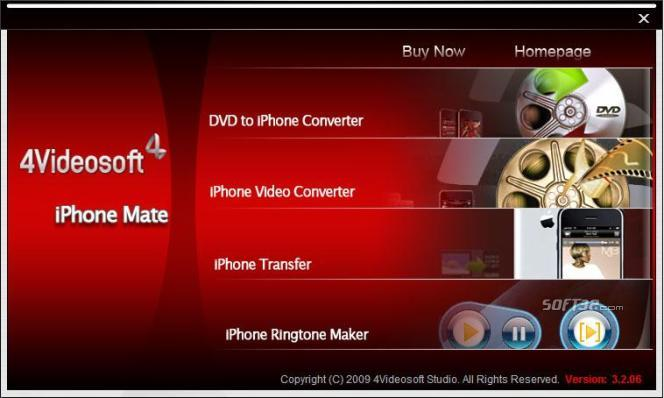 4Videosoft iPhone Mate Screenshot 2