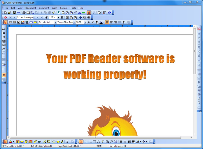 PDFill PDF Editor Screenshot