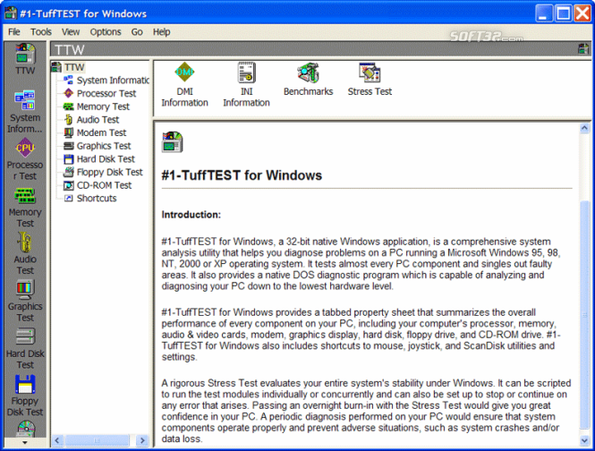 #1-TuffTEST for Windows Screenshot 2