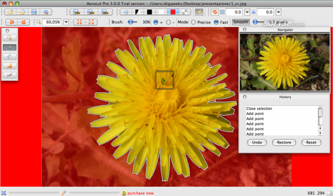 Aerocut Pro Mac Screenshot