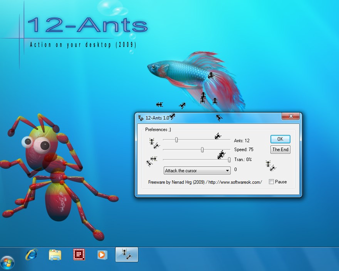 12-Ants Screenshot 1