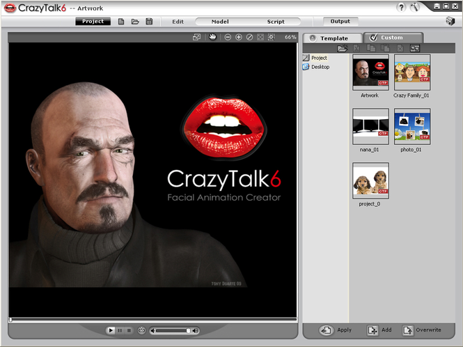 Reallusion CrazyTalk PRO (German) Screenshot