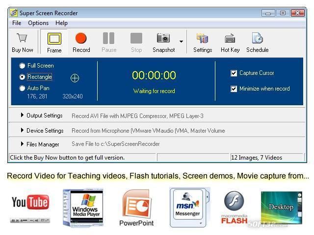 Super Screen Recorder Screenshot 3