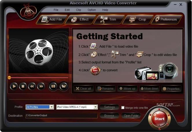 Aiseesoft AVCHD Video Converter Screenshot 3