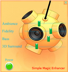 Simple Magic Audio Enhancer Screenshot
