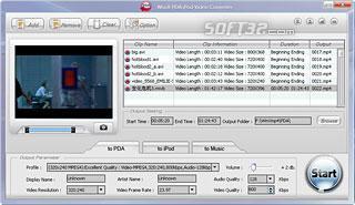 WinX PDA Video Converter Screenshot 3