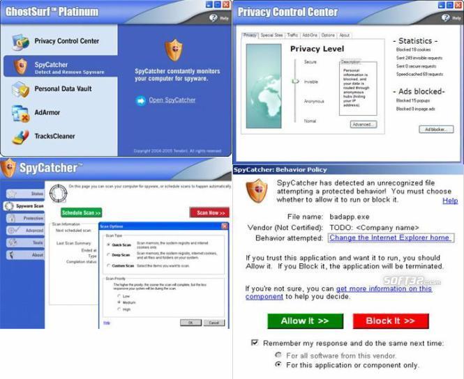 Ghost Surf Platinum Screenshot 3