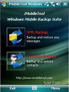 iMobileTool Windows Mobile Backup Suite Screenshot 3