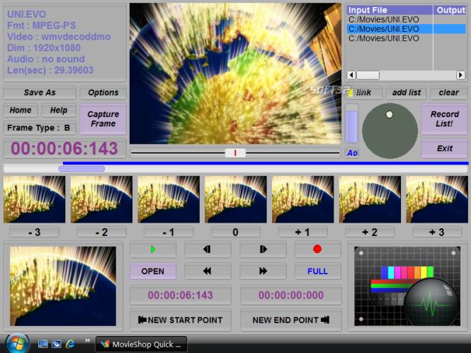 Smart Cutter for DV and DVB Screenshot 3