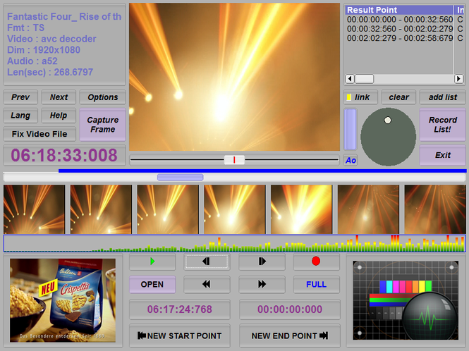 Smart Cutter for DV and DVB Screenshot