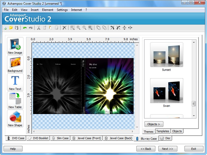 Ashampoo Cover Studio 2 Screenshot