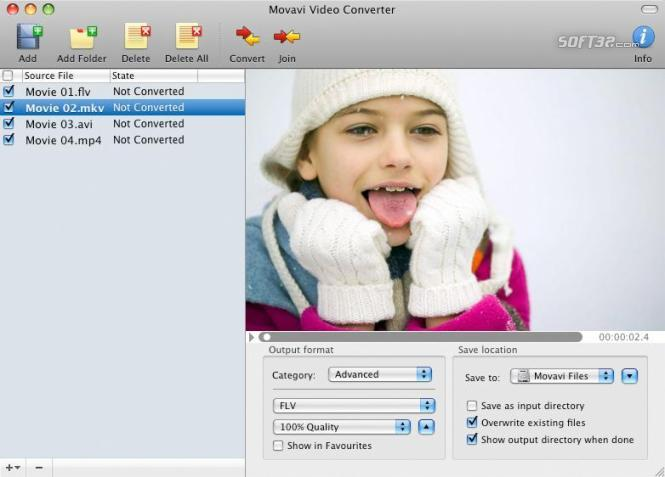 Movavi Video Converter for Mac Screenshot 3