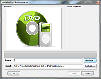 Move DVD to iPod Converter Screenshot