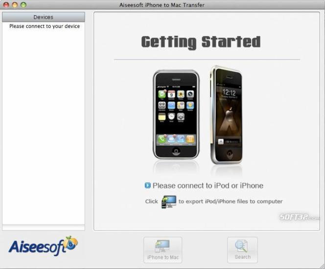 Aiseesoft iPhone to Mac Transfer Screenshot 2