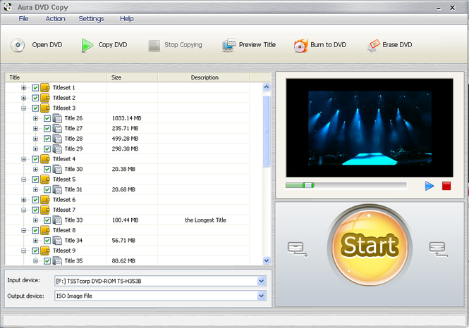 Aura DVD Copy Screenshot 1