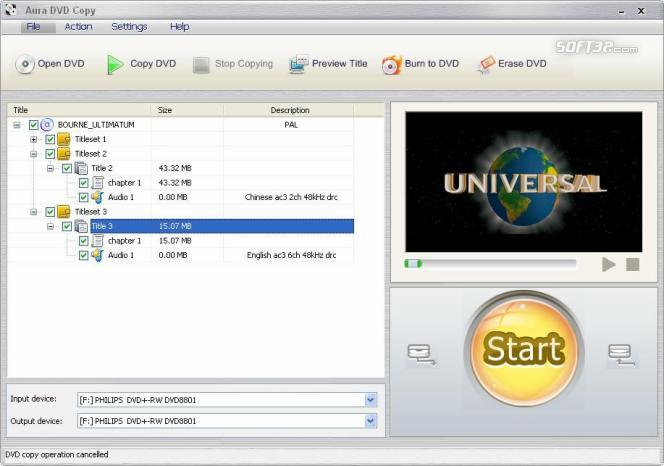 Aura DVD Copy Screenshot 3