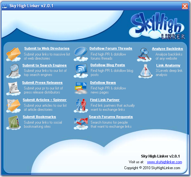Sky High Linker Screenshot 1