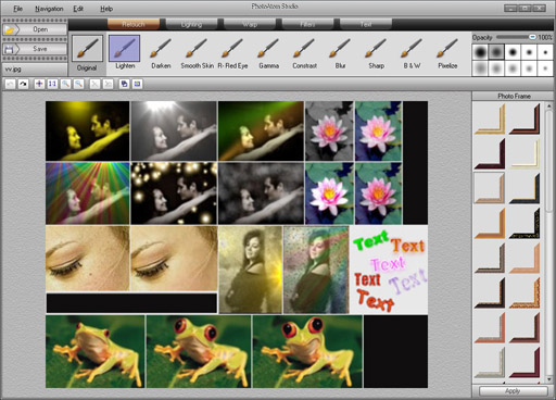 PhotoAtom Studio Screenshot