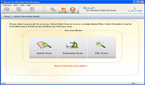 Kernel Digital Photo Recovery Screenshot