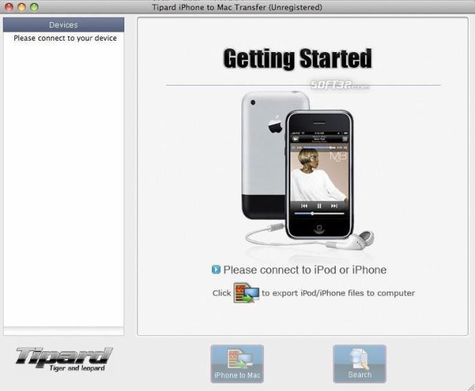 Tipard iPhone to Mac Transfer Screenshot 2