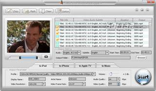 WinX DVD to Apple Ripper Screenshot 2