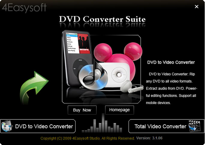 4Easysoft DVD Converter Suite Screenshot 1