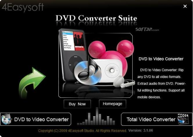 4Easysoft DVD Converter Suite Screenshot 2