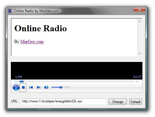 Online Radio Screenshot 1