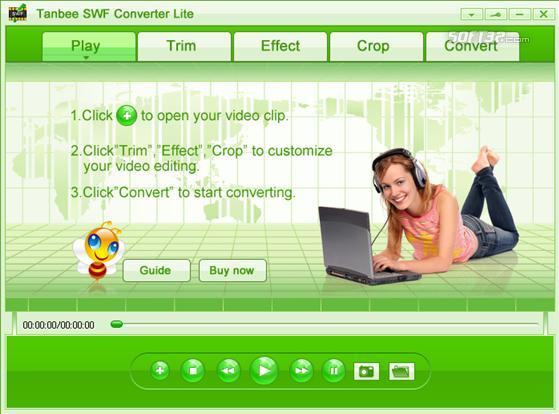 Video to SWF Converter Lite Screenshot 1