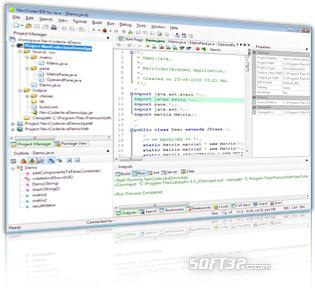 Navicoder IDE for Java (Java IDE editor for Windows) Freeware also available Screenshot