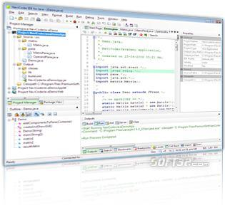 NaviCoder IDE for Java Lite (Java editor for Windows) For Non-commercial use only Screenshot 2