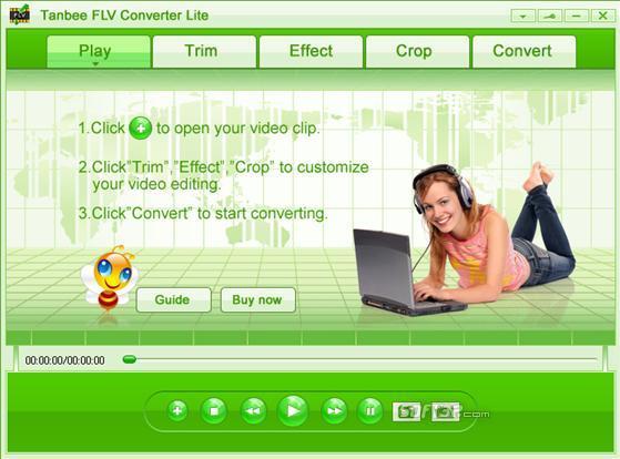 Video to FLV Converter Lite Screenshot