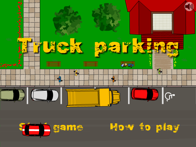 Truck Parking Screenshot 1