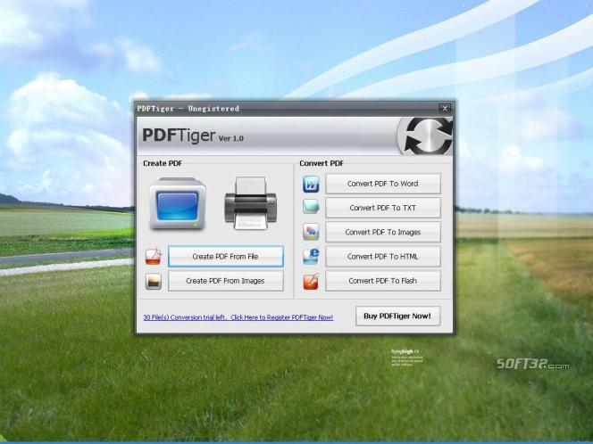 PDFTiger Screenshot 3