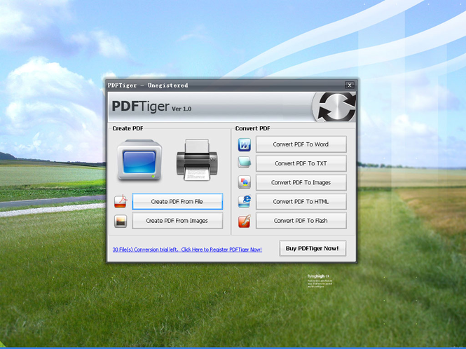 PDFTiger Screenshot