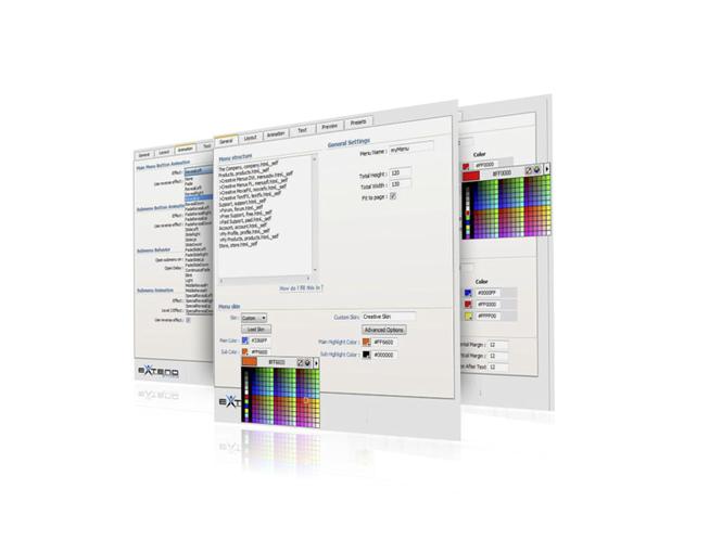 Creative DW Menus Pack Developer Screenshot