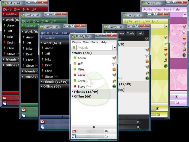 Digsby Screenshot