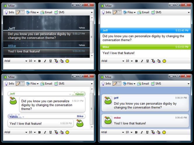 Digsby Screenshot 2