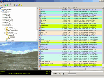Eufony Mopal Free Audio Video Player Screenshot
