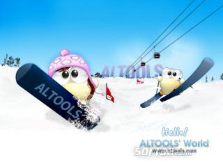 ALTools Ski Resort Desktop Wallpaper Screenshot 2
