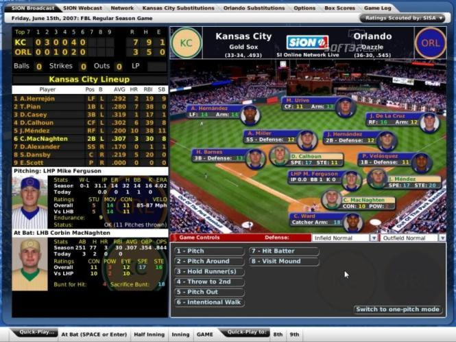 Out of the Park Baseball 8 Free (PC) Screenshot 2
