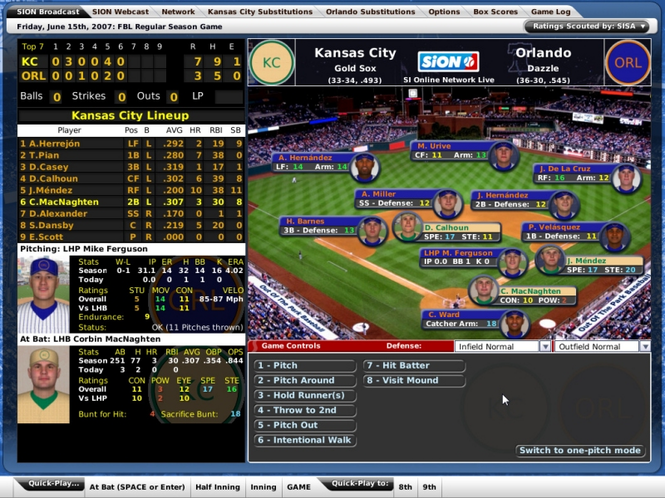 Out of the Park Baseball 8 Free (PC) Screenshot 3
