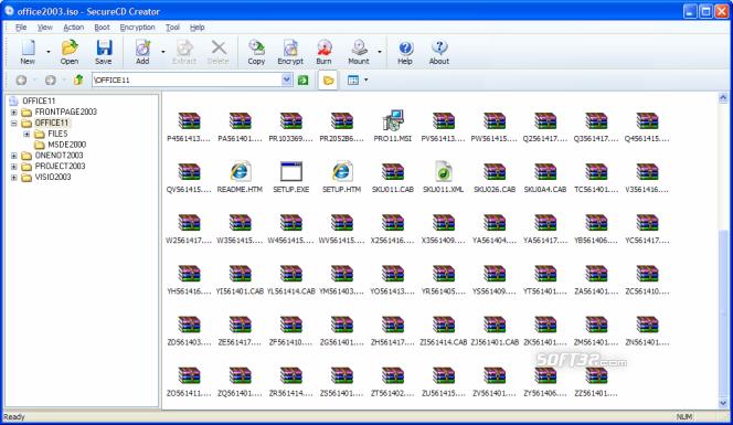 SecureCD Creator Screenshot 2