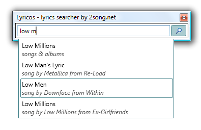 Lyricos Screenshot 1