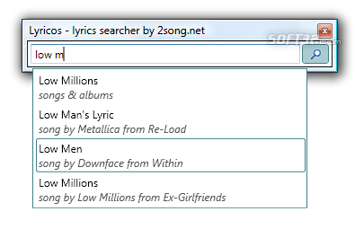 Lyricos Screenshot 2
