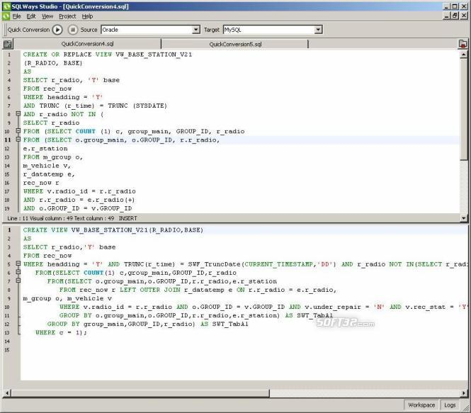 SQLWays Screenshot 2