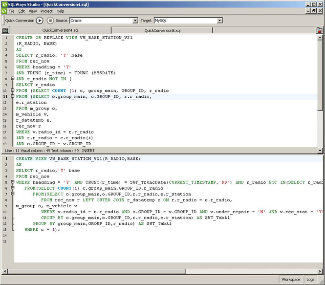SQLWays Screenshot