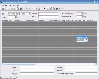 Cerere 2008 Screenshot