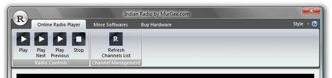 Indian Radio Screenshot