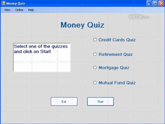 Money Quiz Screenshot 2